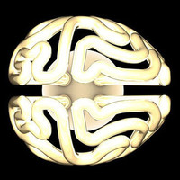 Brain Bulb: Curved Compact Fluorescent Fits Fixtures, Skulls | Designs & Ideas on Dornob