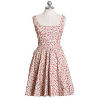 frolicking through wild flowers printed dress - &amp;#36;48.99 : ShopRuche.com, Vintage Inspired Clothing, Affordable Clothes, Eco friendly Fashion