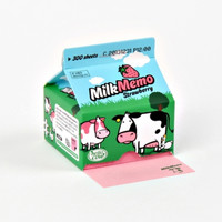 Hello Cow Strawberry Milk Notepad