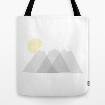 Mountainous Tote Bag by 19oi | Society6