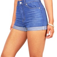 Vivid Vintage High Waist Shorts | Trendy Shorts at Pink Ice