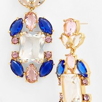 kate spade new york 'sunrise cluster' chandelier earrings