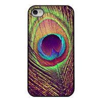 Peacock feather Iphone case  iphone cover for by RetroLoveCases