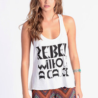Rebel Without A Cause Tank by MYVL - $50.00 : ThreadSence.com, Your Spot For Indie Clothing  Indie Urban Culture