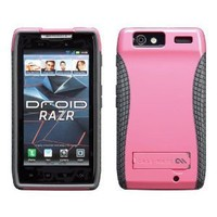 Case-Mate CM018197 POP! Case with Stand for Motorola Droid RAZR XT912 1 pack-Case-Retail Packaging-Pink/Cool Grey