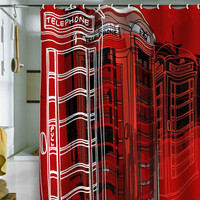 Aimee St Hill Phone Box Shower Curtain