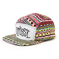 Stussy Fresh Prince Tribal 5 Panel Hat