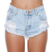 One Teaspoon Bandit Shorts - Frankie