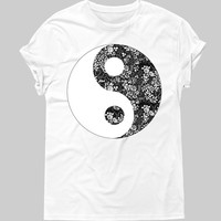 Ying And Yang tee - Hipster Tops