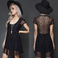 Graveyard Lolita Babydoll Dress