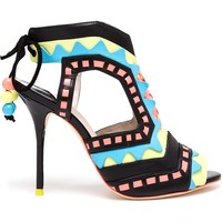 Sophia Webster 'Riko' Cutout Leather Sandals