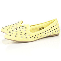 VECTRA4 Canvas Studded Slippers - New In This Week  - New In  - Topshop