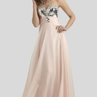 Paillette Embellished Gown by Clarisse