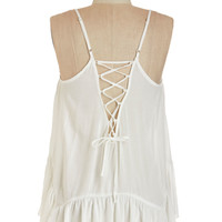 ModCloth Boho Mid-length Spaghetti Straps Refresh Start Top