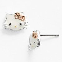 Hello Kitty Diamond Stud Earrings (Nordstrom Exclusive)