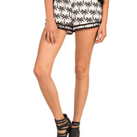 Palm Tree Pattern Lounge Shorts
