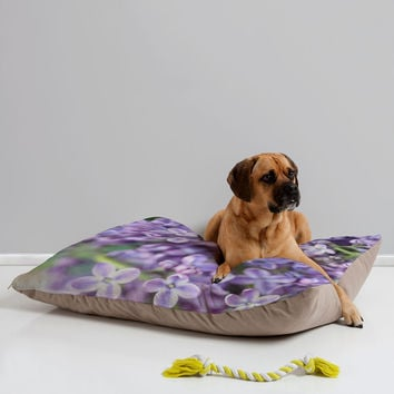 Lisa Argyropoulos Dreamy Lilacs Pet Bed