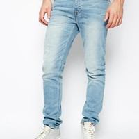 ASOS Skinny Jeans In Light Wash