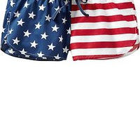 "Women's Americana-Print Lounge Shorts (2-1/2"")"