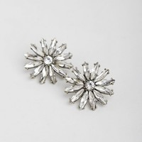 Silver Bloom Earrings