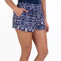 HeartSOUL Juniors Geometric Print Woven Short at Von Maur
