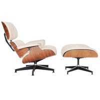 Charles and Ray Eames 670 and 671 Rosewood Lounge Chair For Herman MIller