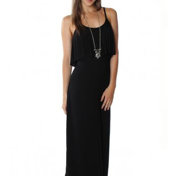 Layered Maxi Black