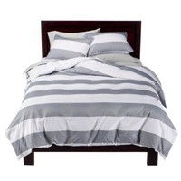 Room Essentials Striped Duvet Set