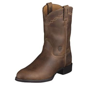 Ariat Men's Heritage Roper Distressed Brown Boots
