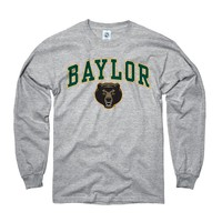 Baylor Bears Grey Arch Long Sleeve Tee