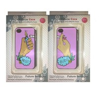 Best Buds Lighter And Smoke Set Of Two (2) iPhone 5 5s Back Cases