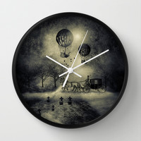 Chapter I Wall Clock by Viviana González | Society6