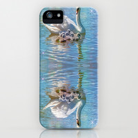 SWANNING AROUND iPhone & iPod Case by Catspaws | Society6