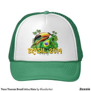 Toco Toucan Brazil 2014 Hats from Zazzle.com
