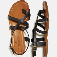 's Strappy Criss Cross Sandal