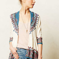 Cleophee Cardigan by Knitted & Knotted Blue Motif
