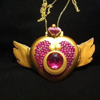 Sailor Moon Season Four Transformation Rhinestone by smcosplay