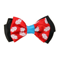 Disney Lilo Stitch Red Hair Bow