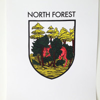 THE NORTH FOREST: screen print