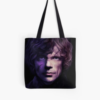 Game of Thrones tyrion lannister Throw pillow and Tote Bag