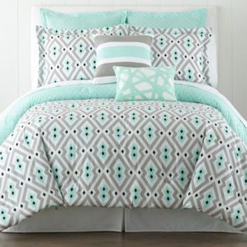 happy chic by jonathan adler nina from jcpenney home. Black Bedroom Furniture Sets. Home Design Ideas