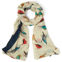 ModCloth Critters Flight on Time Scarf