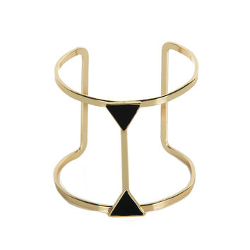 Connected Triangles Cuff