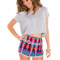 Shine Bright Pom Pom Shorts