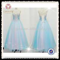 CY71353 light blue sheath sparkly beaded top girls puffy dresses princess ball gown | Prom Dress 2014, View prom Dresses for 2014, CHOIYES Product Details from Chaozhou Choiyes Evening Dress Co., Ltd. on Alibaba.com