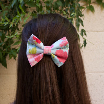 Floral Dream Hair Bow