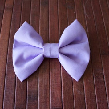 Lavender Hair Bow