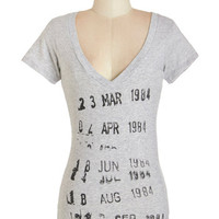 Out of Print Mid-length Short Sleeves Come Check It Out Tee