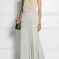 By Malene Birger - Tareza silk-blend maxi skirt