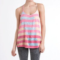 Roxy Knit Drapey Back Stripe Tank - PacSun.com